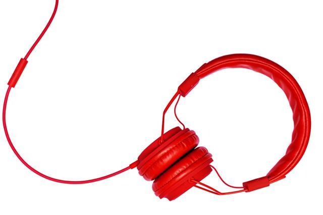 Red Headphones