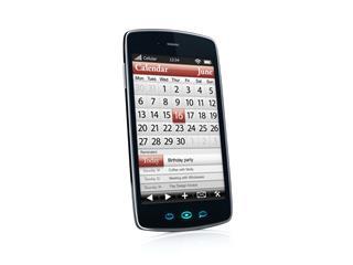 Smartphone With Calendar App