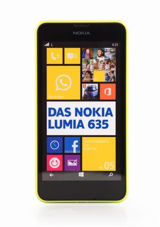 Nokia Lumia 635 With Yellow Frame