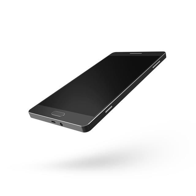 Black Touchscreen Smartphone