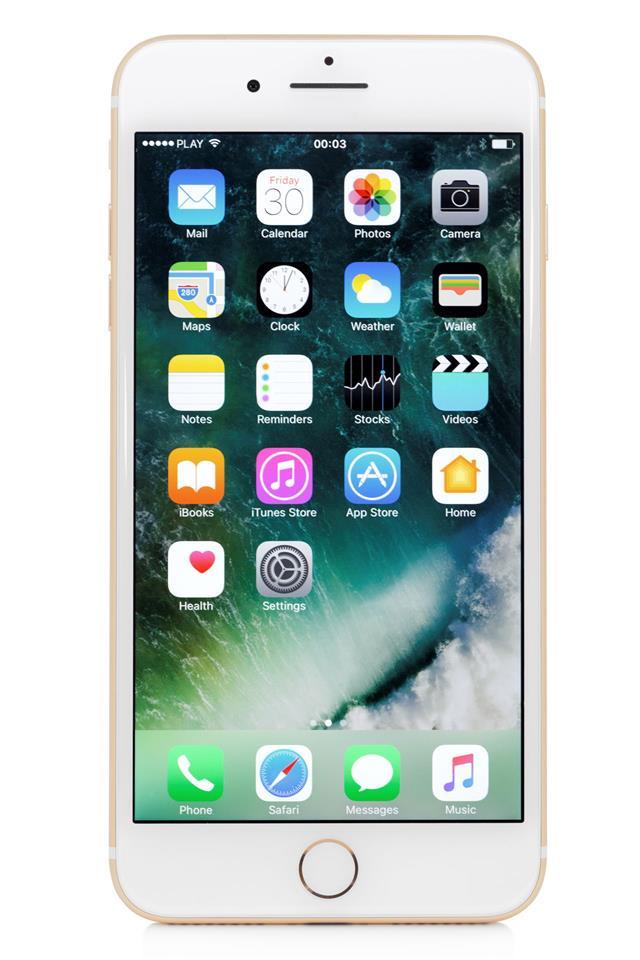 Golden Iphone 7 Plus