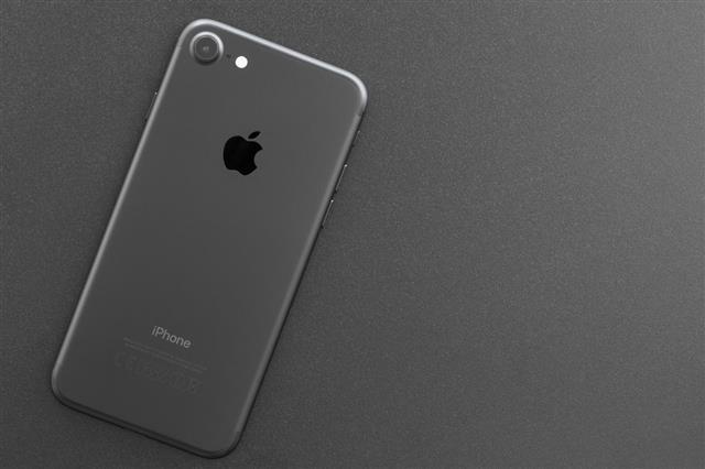 Iphone 7 Matte Black Color