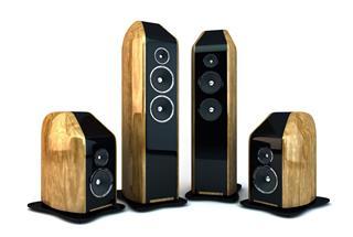 Hi End Design Speaker Setup