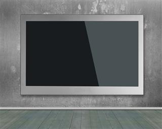 Wide Flat Screen Tv