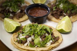 Mexican tacos restaurant tacos