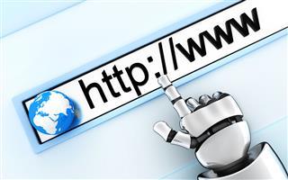 Robot hand specify www