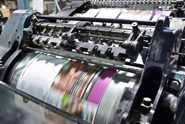 Printing at high speed