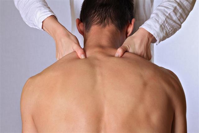 Chiropractic osteopathy dorsal manipulation acupressure.