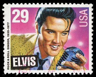 USA Elvis Presley postage stamp