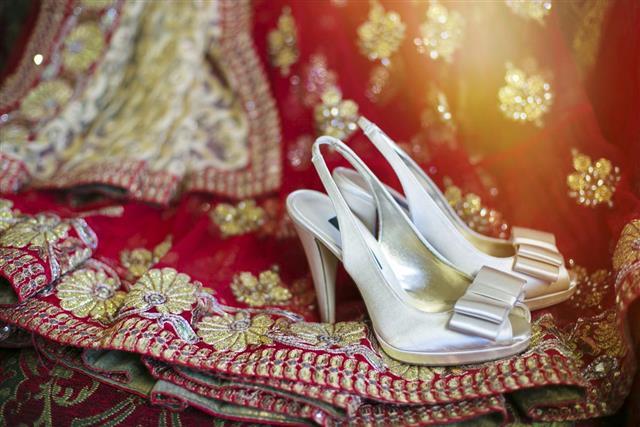 Wedding sari