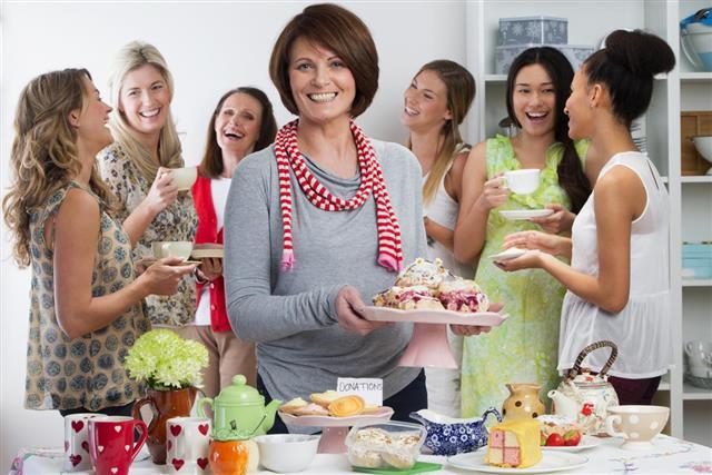 Womens Tea Party