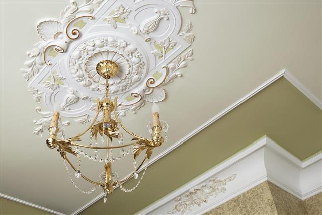 Beautiful bronze chandelier