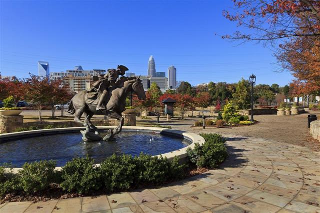 Elizabeth Park in Charlotte NC