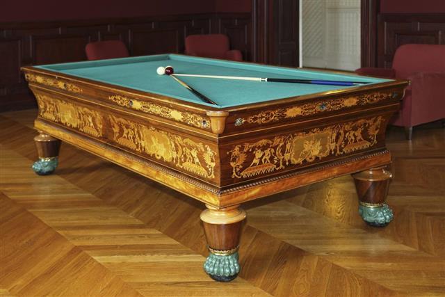 Carambole billiards