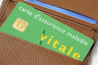 French Carte Vitale (Social Security Card)