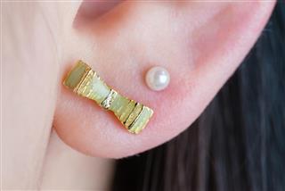 Earrings in Ear