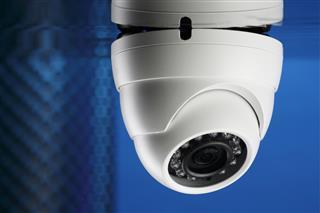 Modern security camera Video surveillance