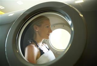 Hyperbaric chamber treatment