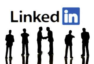 Business people on LinkedIn