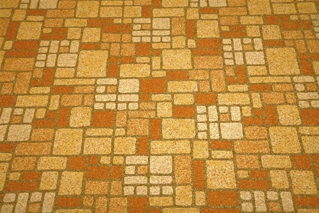 Linoleum tile background
