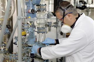 Regular care and maintenance of distillation plant
