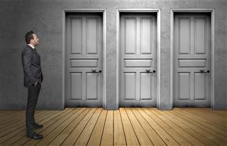 Choice a door
