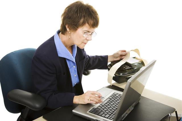Typing Court Transcript