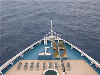 Bow Of Cruise Ship