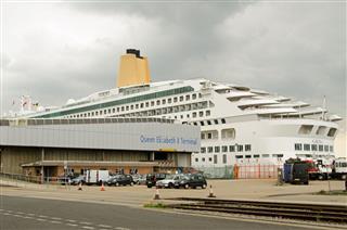 Aurora Cruise Ship Southampton Docks