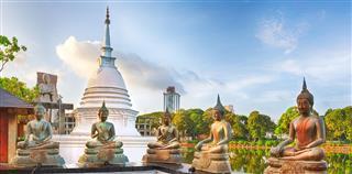 Seema Malaka Temple Panorama