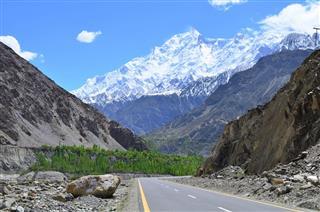 Rakaposhi Peak Karakorum Range