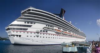 Cruise Ship In Jamaica