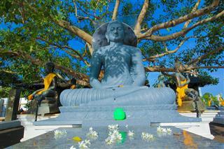 Seema Malaka Temple Beira Lake Colombo