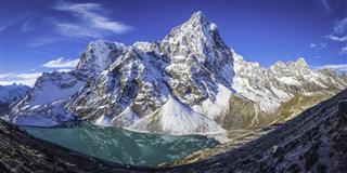Cholatse Dramatic Mountain Peak