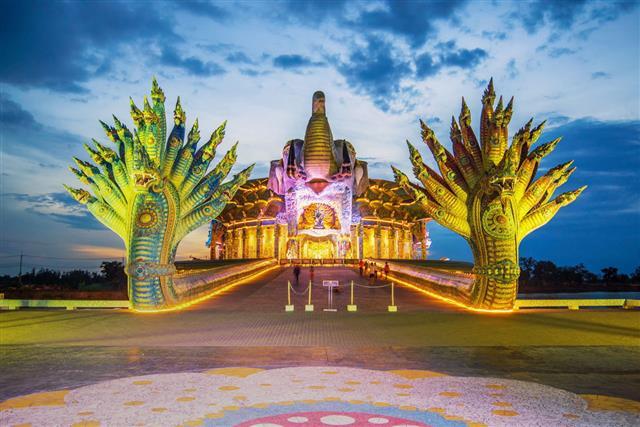 Ban Rai Temple In Thailand