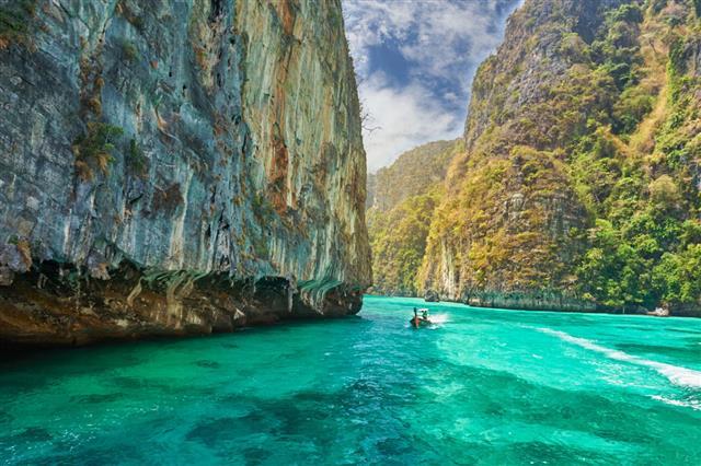 Phi Phi Island Krabi Province Thailand