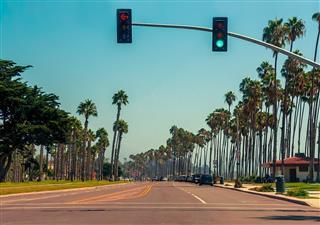 Highway In Santa Barbara California