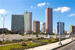 Vedado Skyline In Havana