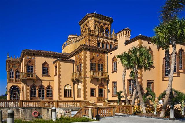 Ringling Museum Mansion Sarasota Florida