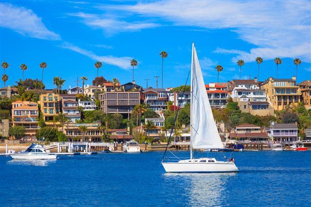 Newport Bay At Newport Beach Ca