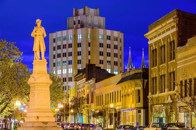 Macon Georgia Cityscape