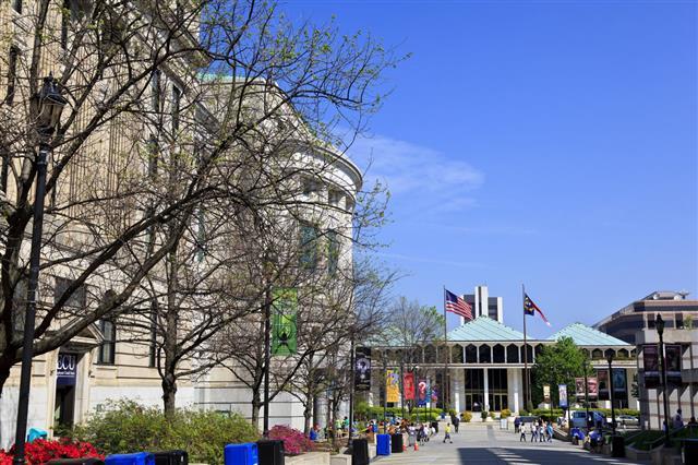 Bicentennial Plaza In Raleigh
