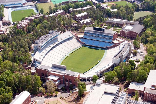 Kenan Stadium Aerial View