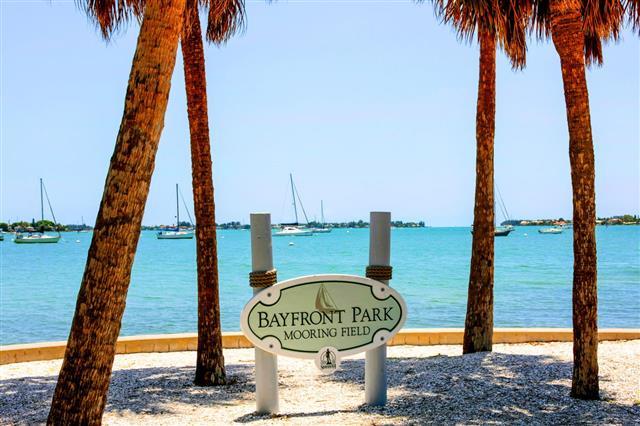 Sarasota Bayfront Park In Florida