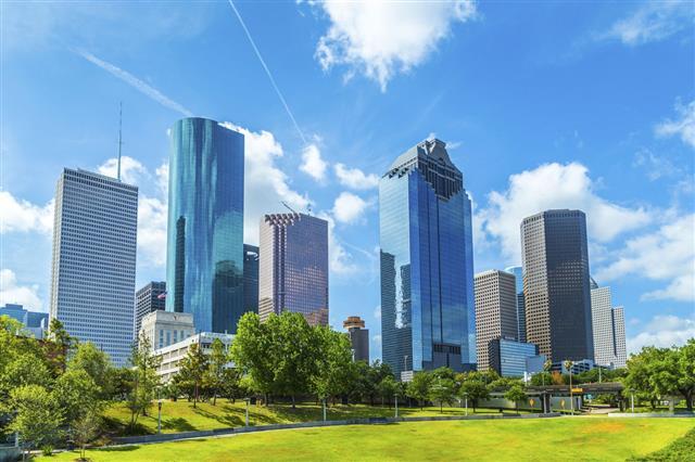 Skyline Of Houston Texas