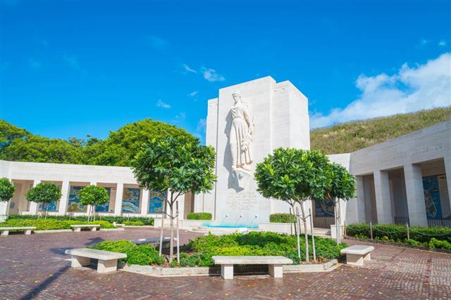 Punchbowl Cemetery Honolulu Hawaii