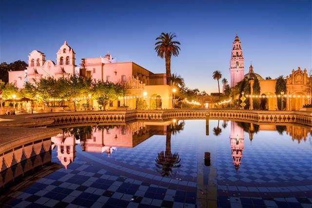 San Diego California At Balboa Park