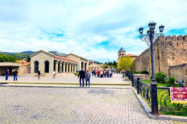 Georgian Historical Town Of Mtskheta Georgia