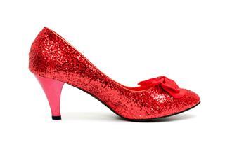 Red High Heels Shoe
