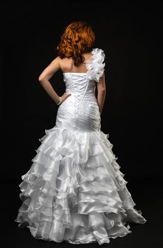 Bride Rear View